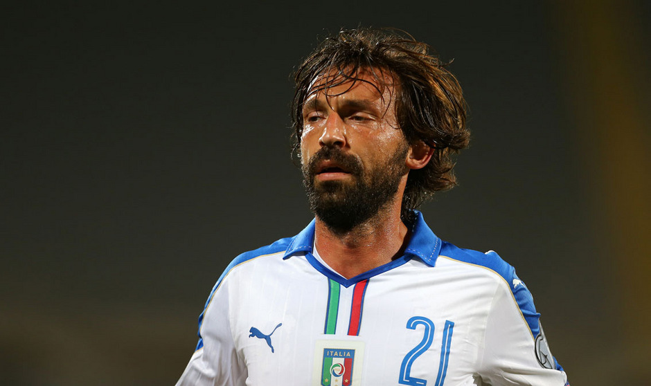 Italiens Fußball-Legende Andrea Pirlo.