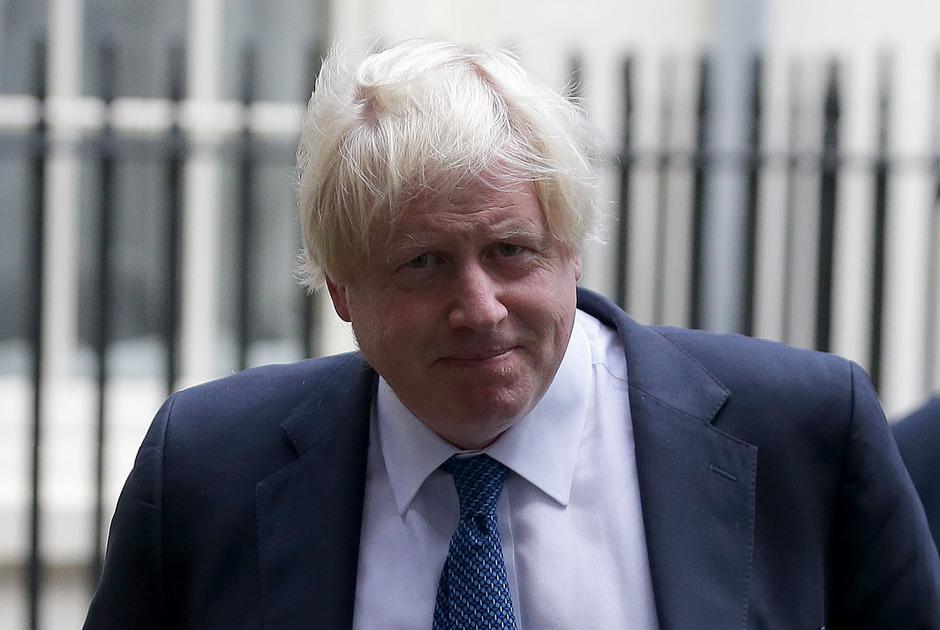 Der britische Außenminister Boris Johnson.