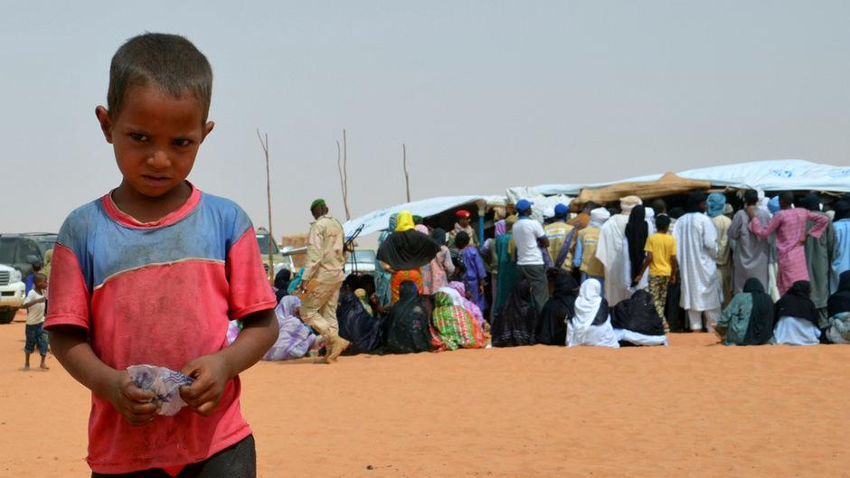 Vor allem die Kinder sind von der Ernährungskrise in Mali betroffen.