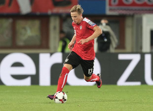 Trieb das rotweißrote Spiel gegen Serbien über den rechten Flügel an - Kasan-Legionär Moritz Bauer.