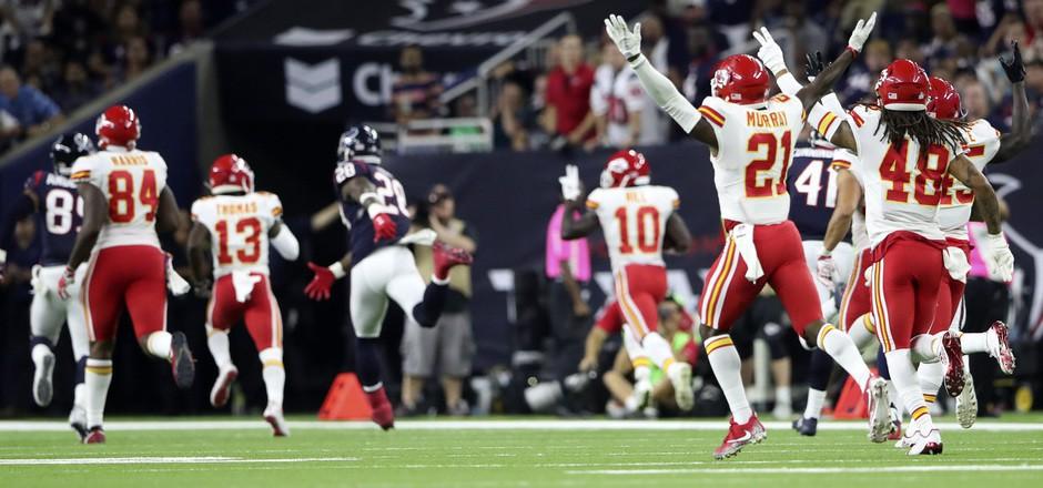 Die Kansas City Chiefs hielten sich auch gegen die Houston Texans schadlos.