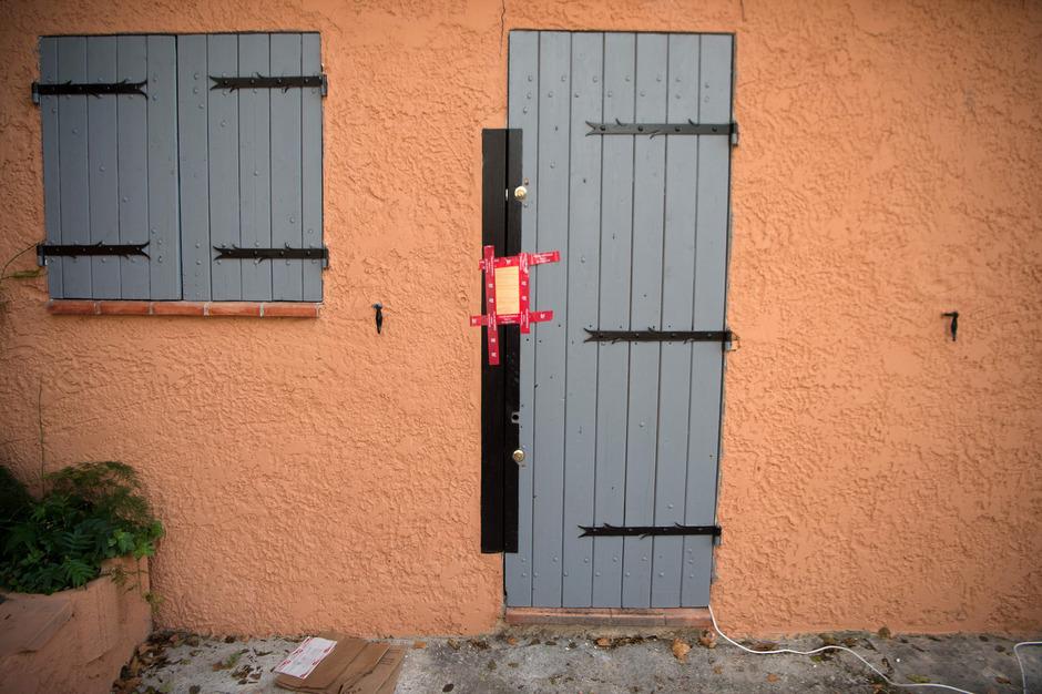 Die Wohnung des Angreifers wurde vergangene Woche durchsucht.