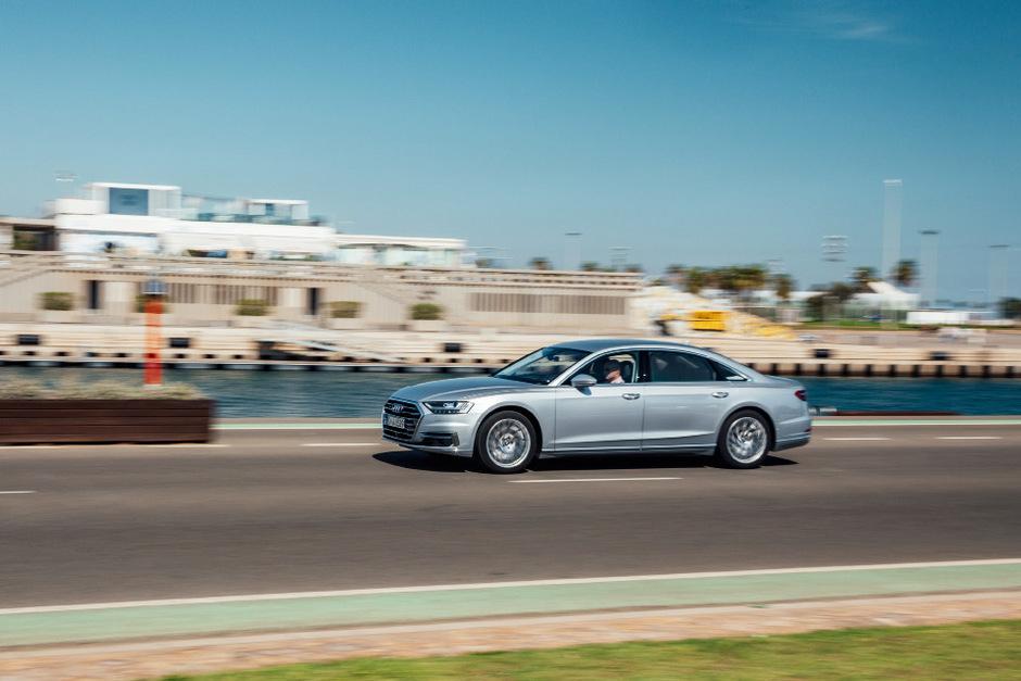 Im November kommt der neue A8 von Audi auf den Markt, ab 101.200 Euro ist er bestellbar.