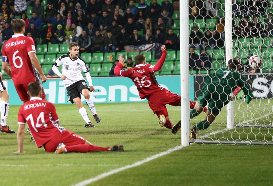 Louis Schaub erzielte den goldenen Treffer des Tages.