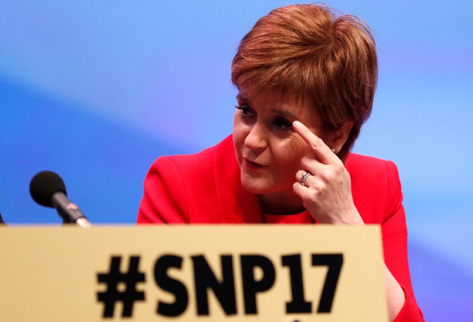 Schottlands Regierungschefin Nicola Sturgeon.