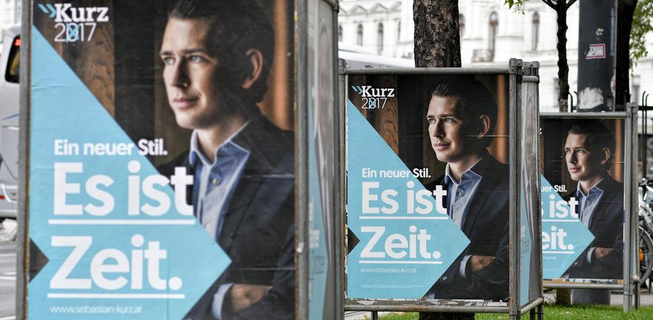 Die ÖVP von Sebastian Kurz steht bei den Werbeausgaben an oberster Stelle.