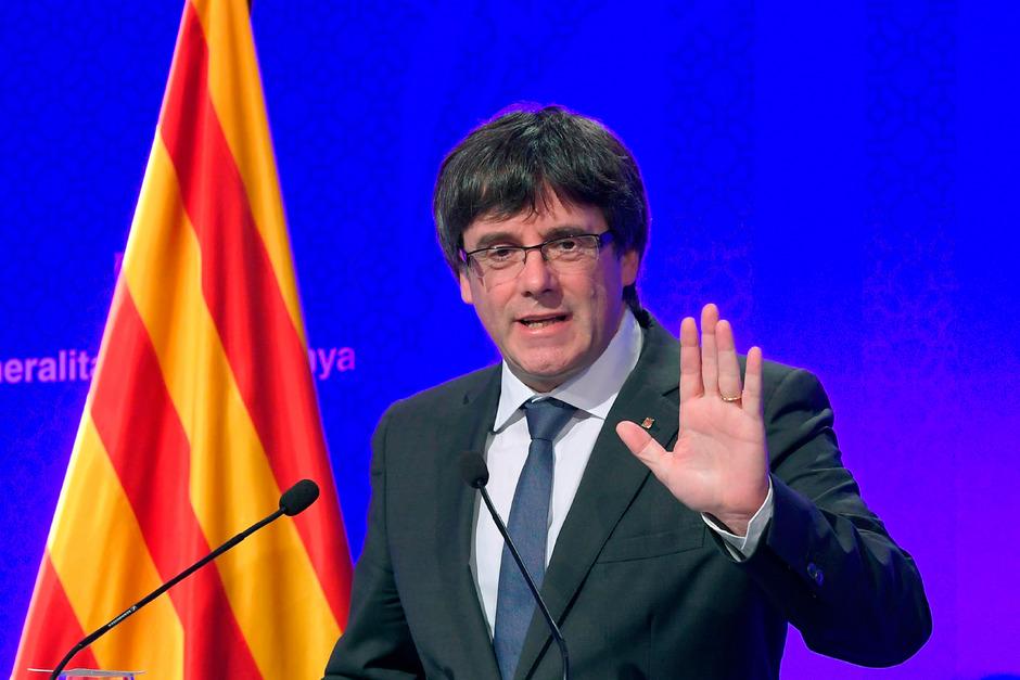 Kataloniens abgesetzter Regionalpräsident Carles Puigdemont.