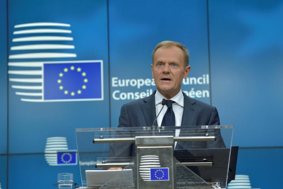 EU-Ratspräsident Donald Tusk.