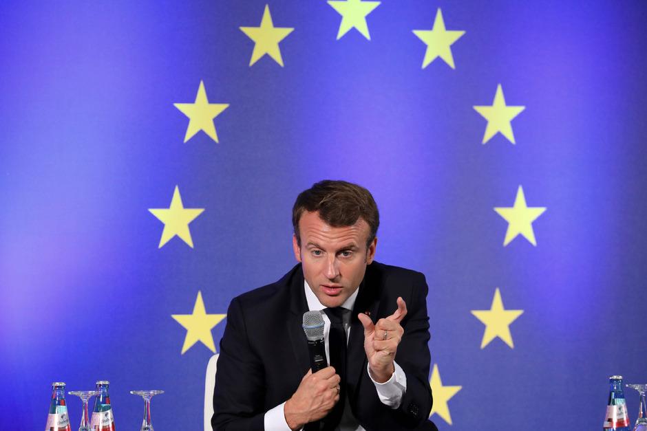 Frankreichs Staatspräsident Emmanuel Macron.