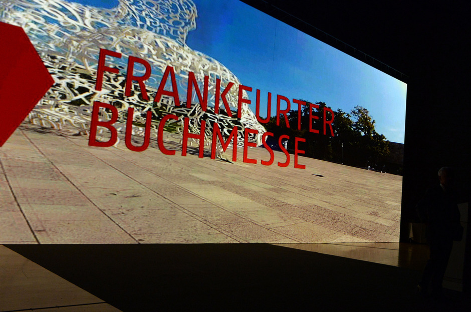 Die Frankfurter Buchmesse startet am Mittwoch für Fachbesucher.