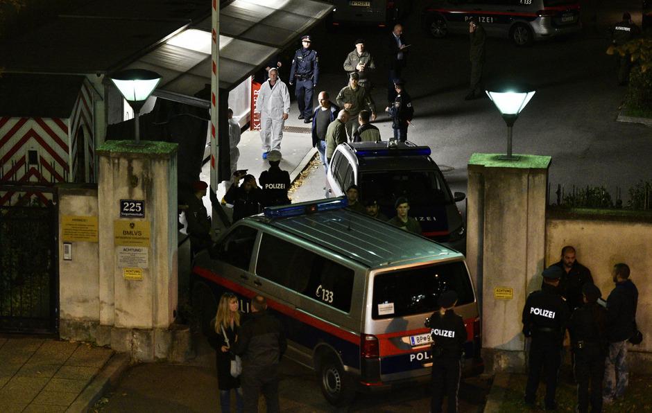 Zu dem tödlichen Schuss kam es in einem Amtsgebäude des österreichischen Bundesheeres in der Vorgartenstraße in Wien-Leopoldstadt.