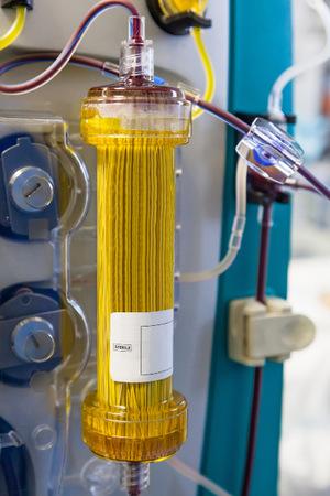 Blut besteht zu 40 Prozent aus Blutzellen und zu 60 Prozent aus Plasma (Foto), in dem wichtige Eiweiße, Salze und Hormone schwimmen.