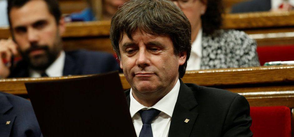 Kataloniens Regionalregierungschef Carles Puigdemont.