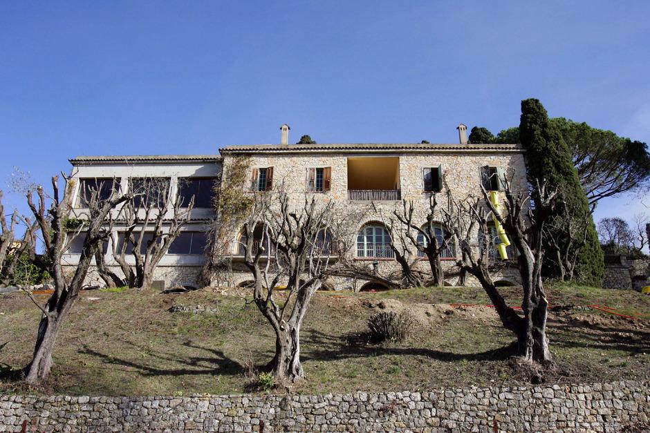 Picassos Villa.