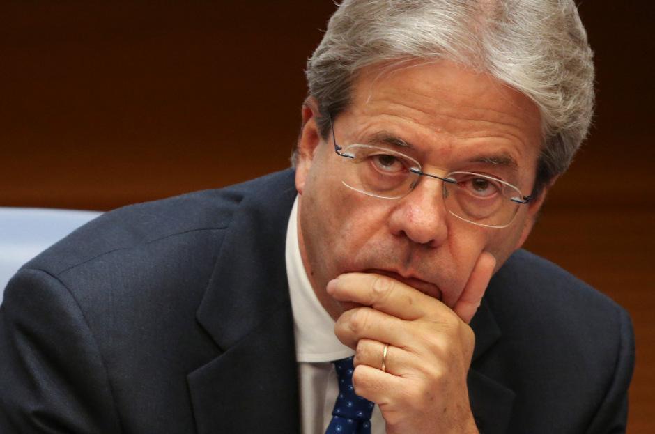 Italiens Premier Paolo Gentiloni.