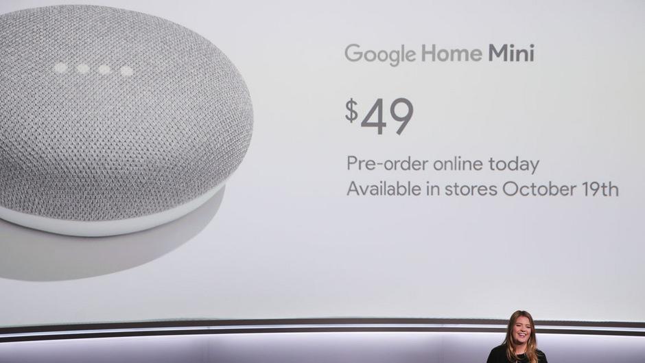 Google mischt im smarten Lautsprecher-Markt mit.