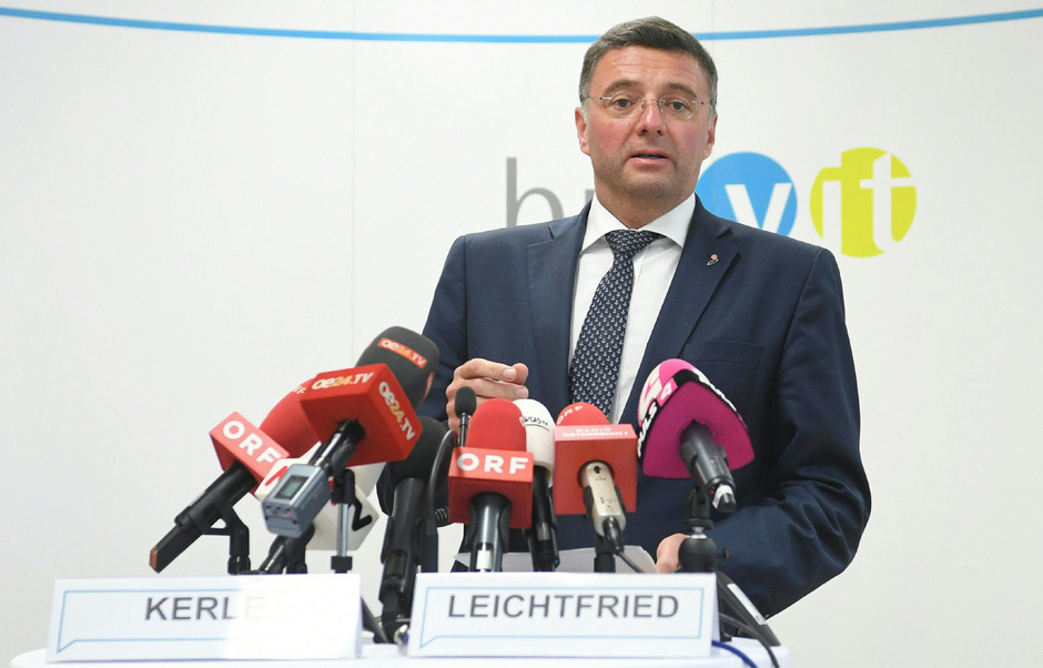 Verkehrsminister Jörg Leichtfried (SPÖ).