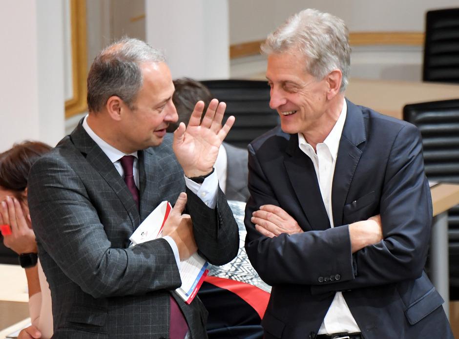 SPÖ-Klubchef Andreas Schieder (l.) und Josef Cap (SPÖ).