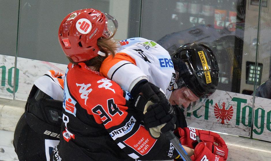 Nach einer Saison 2015/16 bei den Graz 99ers (Bild) und einem Intermezzo in Bozen kämpft Morten Poulsen nun für den HC Innsbruck.