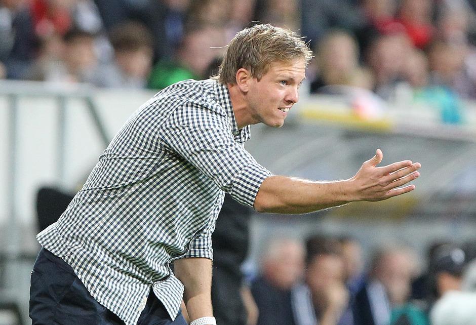Hoffenheim-Coach Julian Nagelsmann.