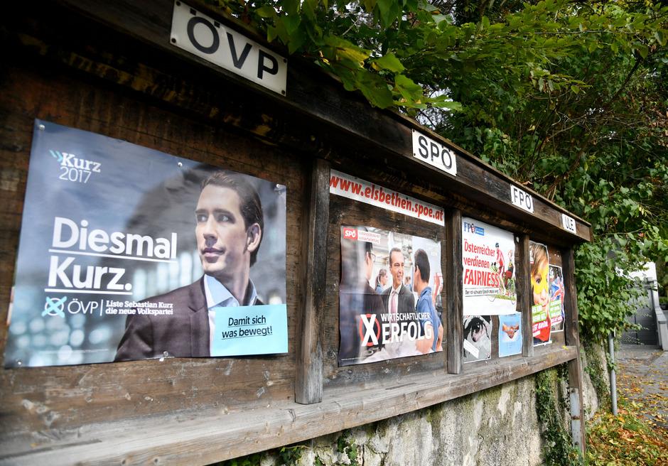 Der Wahlkampf in Österreich wird auch außerhalb der Landesgrenzen beobachtet.