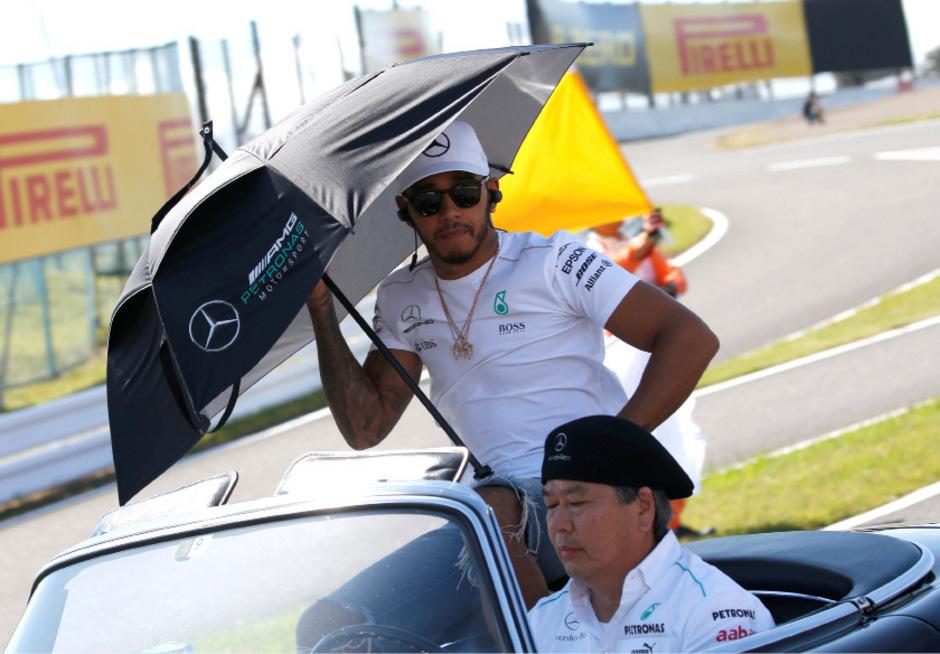 Will unter die Modeschöpfer gehen: F1-WM-Leader Lewis Hamilton.