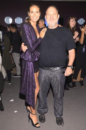 """Heidi Klum und Harvey Weinstein: Beim """"Project Runway"""" arbeiteten die beiden zusammen."""