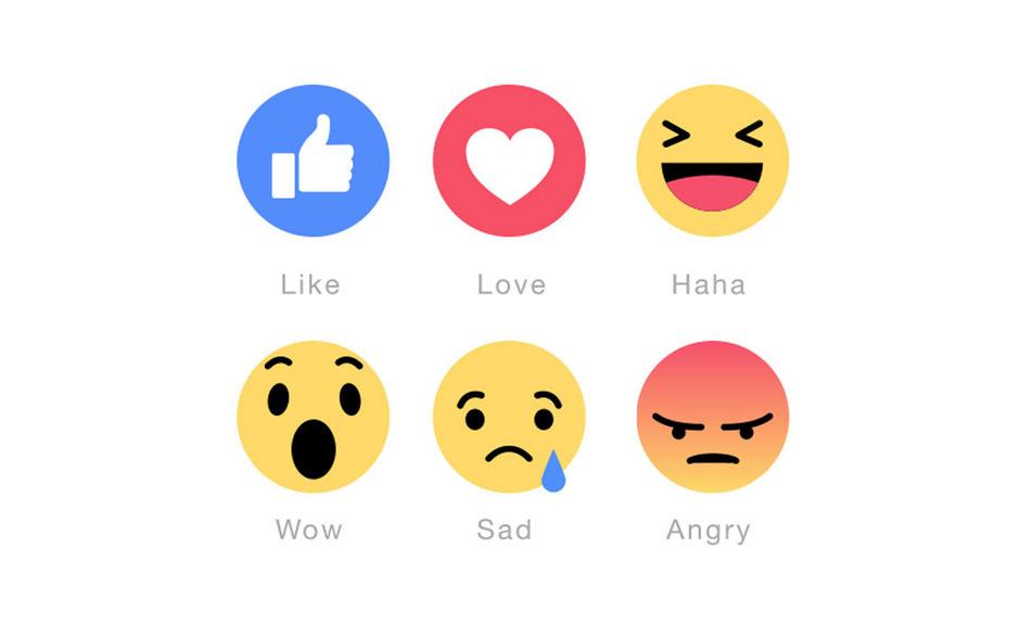 """Beiträge von Kern, Kurz und Lunacek werden häufig mit """"Love"""" markiert. Strache erntet die meisten zornigen Reaktionen (""""angry"""")."""