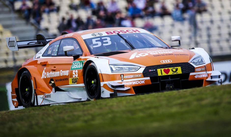 Jamie Green raste am Samstag am Hockenheimring zum Sieg.