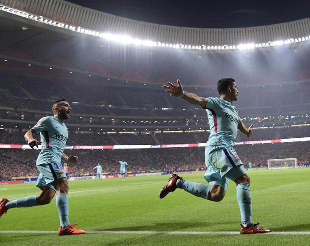 Luis Suarez sorgte mit seinem Kopfballtreffer für den späten Ausgleich.