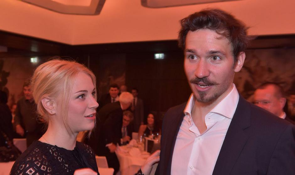 Das deutsche Wintersport-Traumpaar: Felix Neureuther und Miriam Gössner.