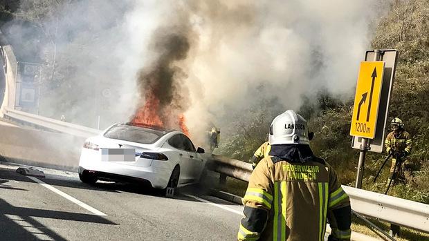 Die Feuerwehr war rasch am Unfallort.