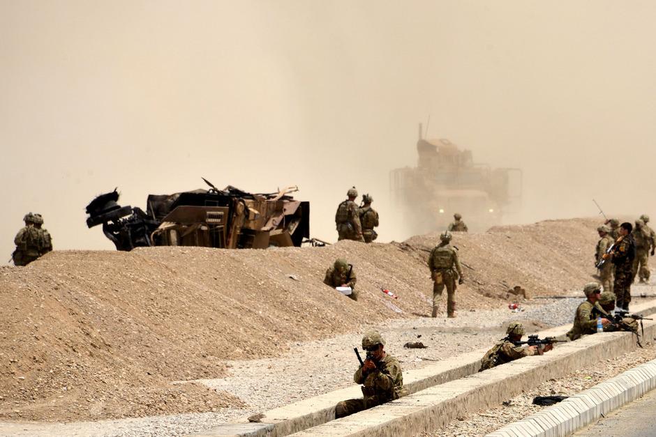 US-Soldaten im Einsatz in Afghanistan.