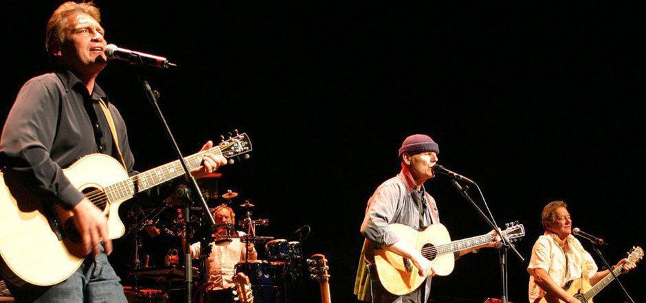 Reunion im Jahr 2007: Fendrich, Danzer und Ambros (v.l.).