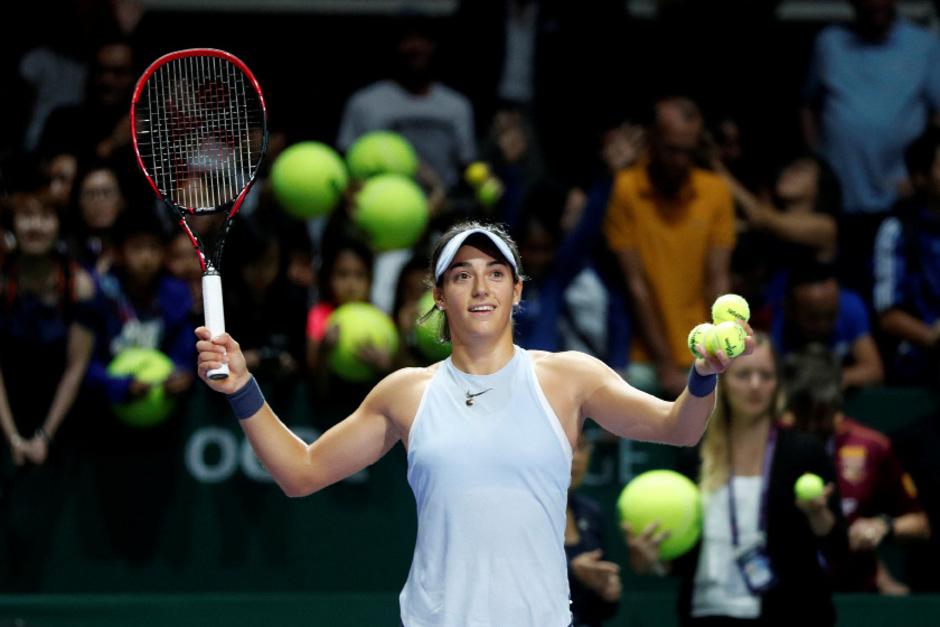 Caroline Garcia feierte einen ihrer größten Erfolge. Die Französin trifft im Halbfinale auf Venus Williams.
