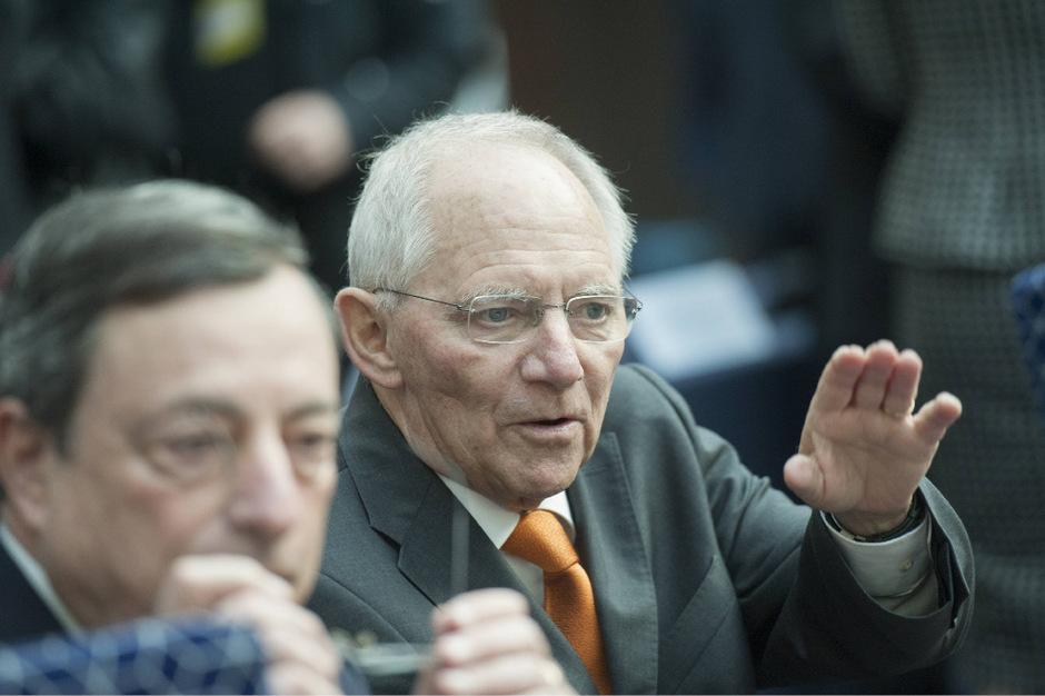 Deutschlands ehemaliger Finanzminister Wolfgang Schäuble.