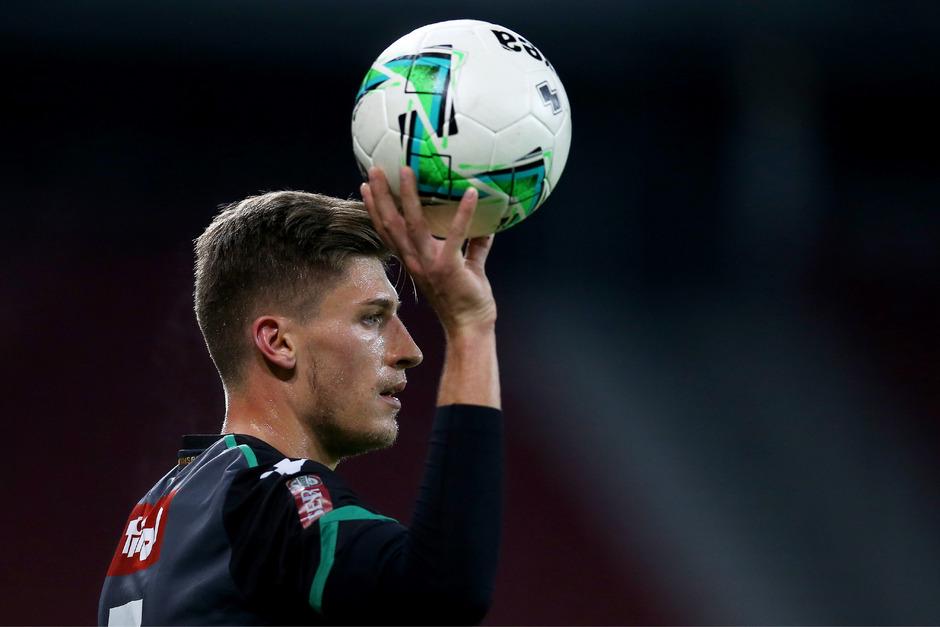 Flo Jamnig ist mit dem FC Wacker heute beim FC Liefering voll auf drei Punkte fokussiert.