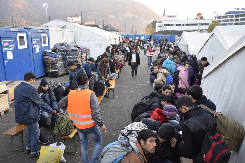 2015 wurden in Kufstein Zigtausende Flüchtlinge versorgt, Ehrenamtliche leisteten dabei wertvolle Arbeit.
