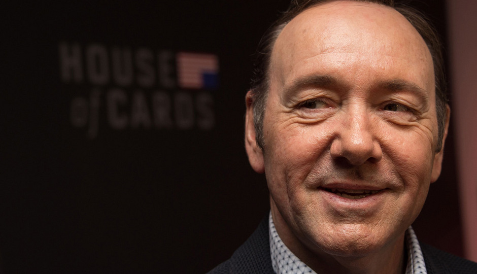 Hollywood-Star Kevin Spacey.