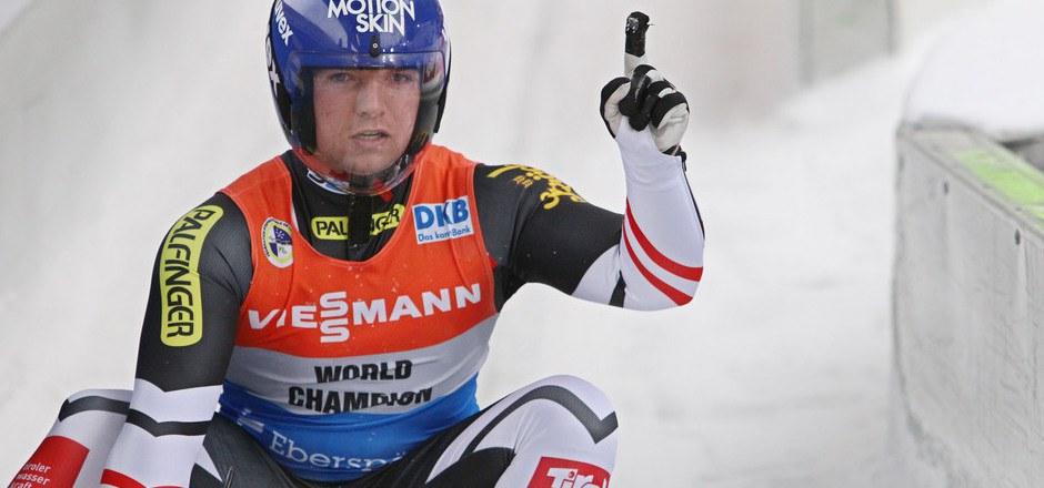 Wolfgang Kindl riskierte beim Material und holte Platz zwei.