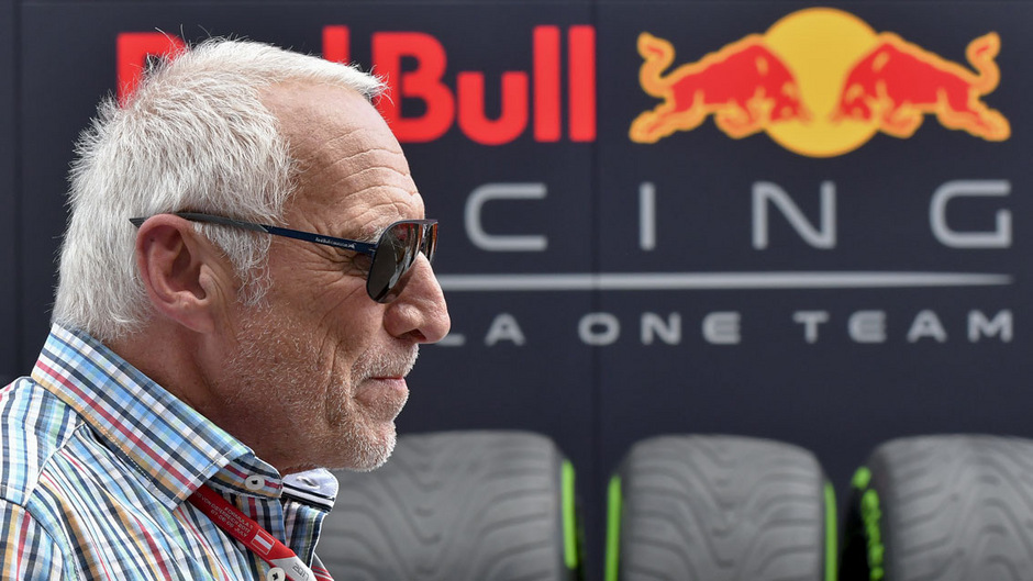 Red-Bull-Boss Dietrich Mateschitz.