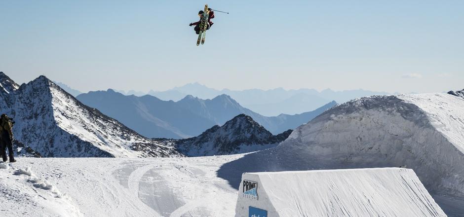 Hoch hinaus will Viktor Moosmann auch am Wochenende. Insgesamt sind 136 Starter aus 26 Nationen im Stubaital dabei.