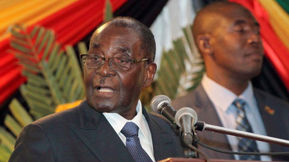 Fast 40 Jahre war Robert Mugabe in Simbabwe an der Macht.