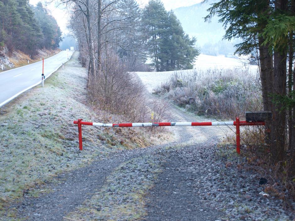 Der neue Radweg soll in den bestehenden Wirtschaftsweg (See-Eck Richtung Imst) einmünden.