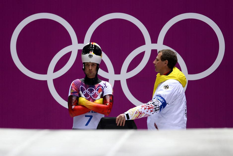 2014 in Sotschi holte Tretjakow Gold. Die Medaille wurde dem Skeleton-Piloten aberkannt.