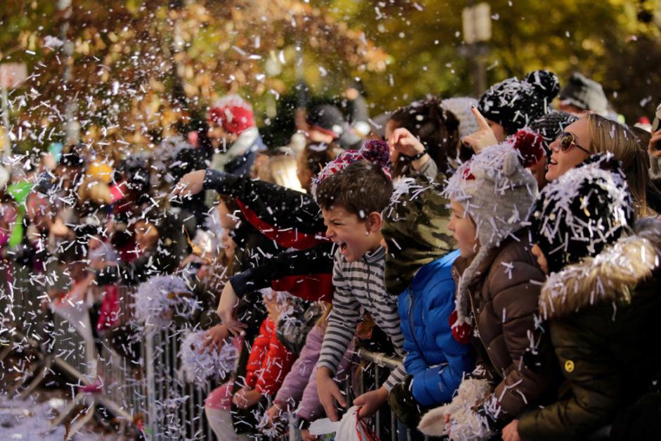 Millionen Menschen haben am Donnerstag in New York die traditionelle Parade zum Thanksgiving Day verfolgt.