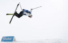 Der Norweger Oystein Braaten zauberte mit 91,40 Punkten die Höchstwertung in den Stubaier Schnee.