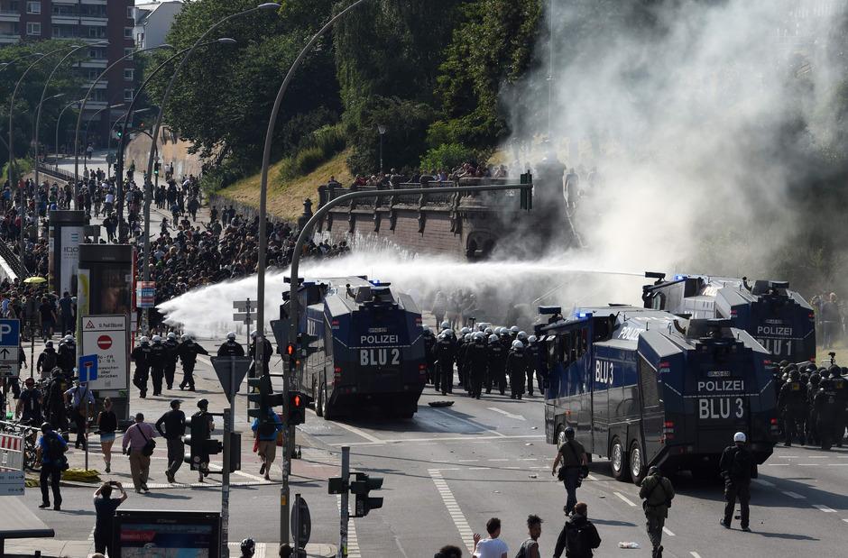 In Hamburg kam es während des G20-Gipfels zu schweren Ausschreitungen.