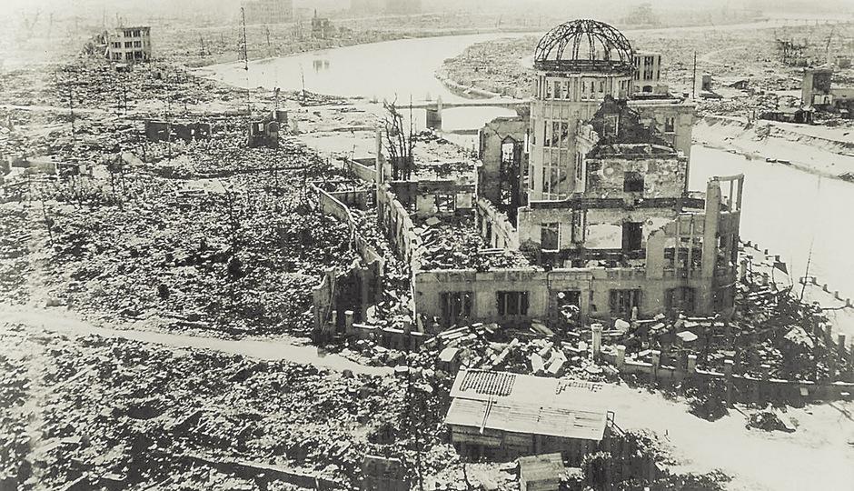 Atomruine in Hiroshima. Das Risiko einer nuklearen Konfrontation nimmt zu. Die humanitären Konsequenzen eines nuklearen Schlagabtauschs wären katastrophal.