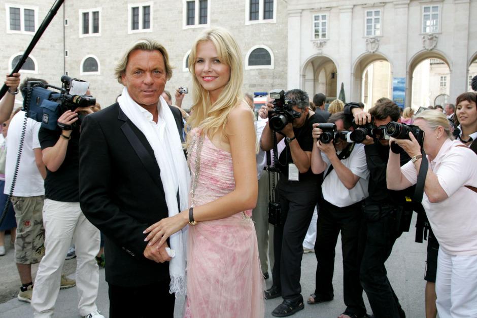 Otto Kern mit seiner Frau Naomi bei den Salzburger Feststpielen. (Archivfoto)